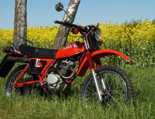 Honda XL 185S – der kleine Traktor