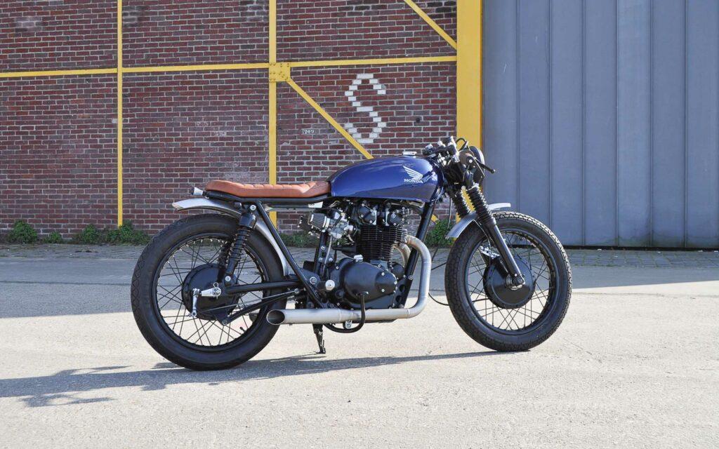 Die ursprüngliche Honda CB 450 von 1975 wurde komplett zerlegt