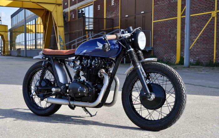 Custom Motorrad Honda CB 450 Brat Style