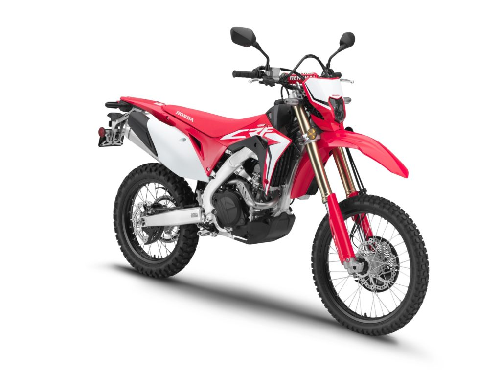 Honda Crf L X on Yamaha Xt 500 Enduro