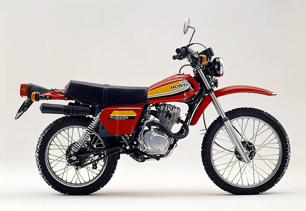 Honda XL 125 und 185 waren baugleich