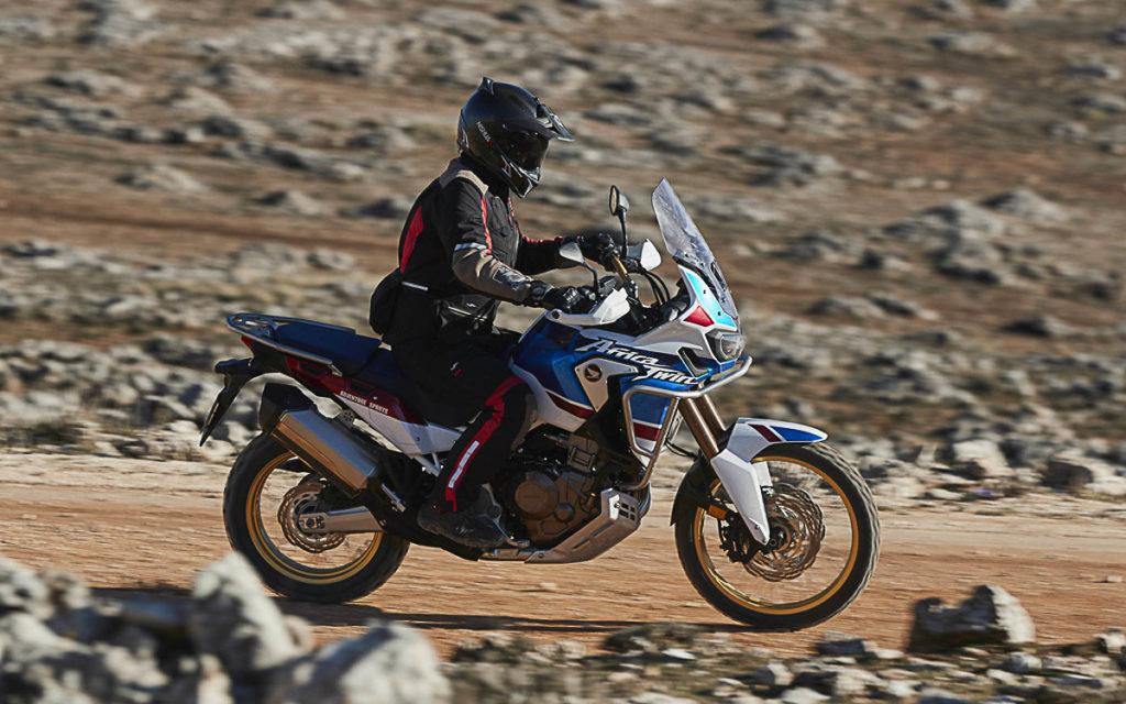 a CRF1000L Adventure Sports