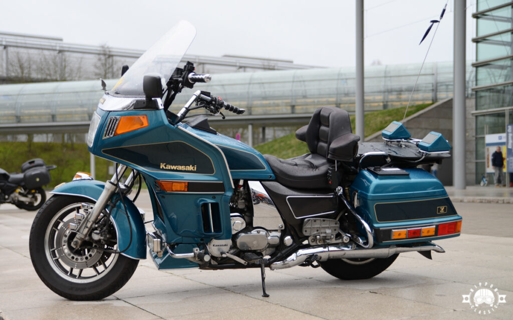 Hierzulande ist die Kawasaki ZN 1300 Voyager eine Seltenheit
