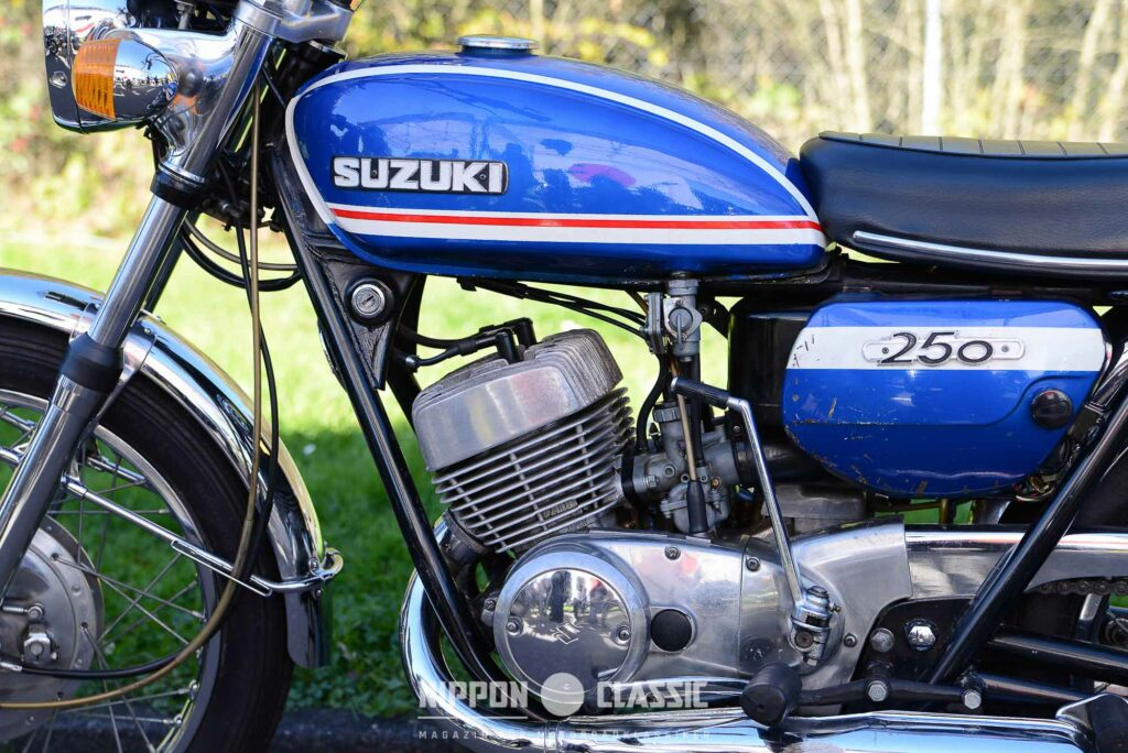 Die Suzuki T 250 löste 1969 die T20 ab