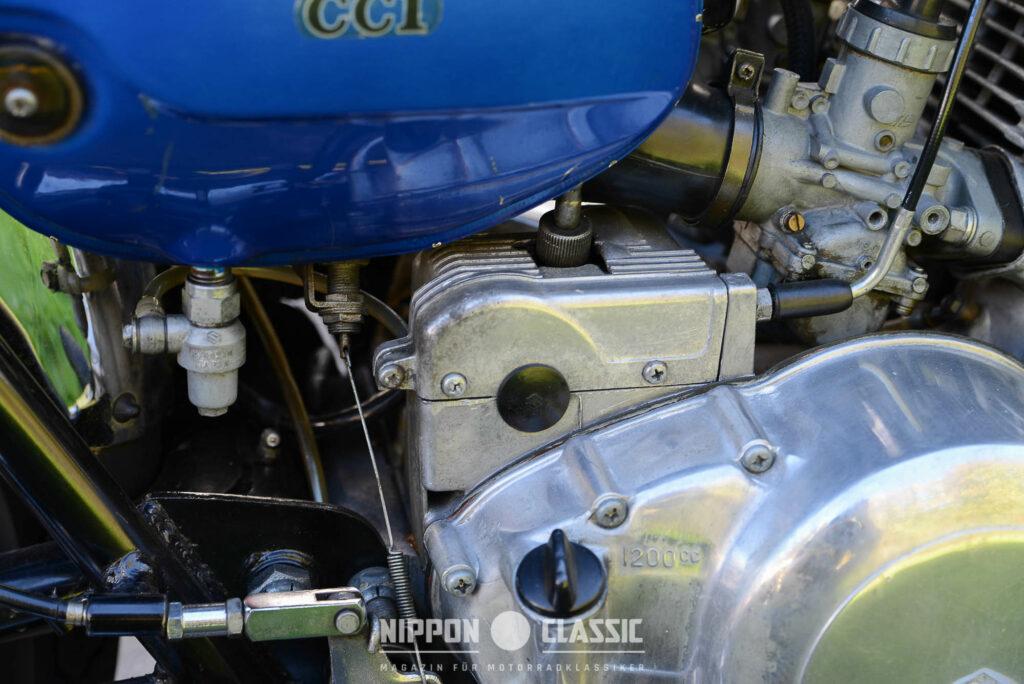 """Ölpumpe der Suzuki """"Posi Force Lubrication"""""""