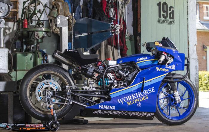 Yamaha XSR700 Dragster von Workhorse Speed Shop
