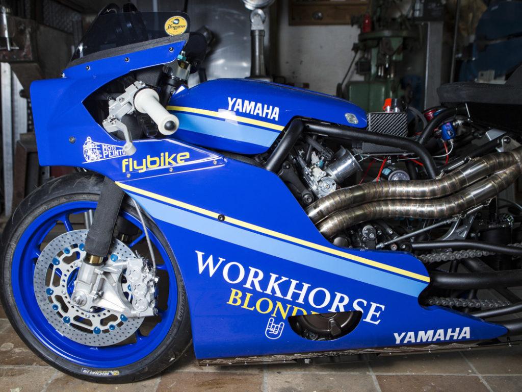 Die Workhorse-Yamaha ist eine Hommage an die Yamaha FZR 750 Bol d'Or Sonauto