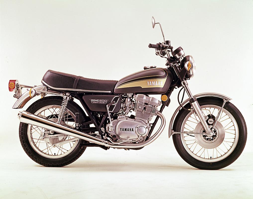 Yamaha TX 500 von 1973