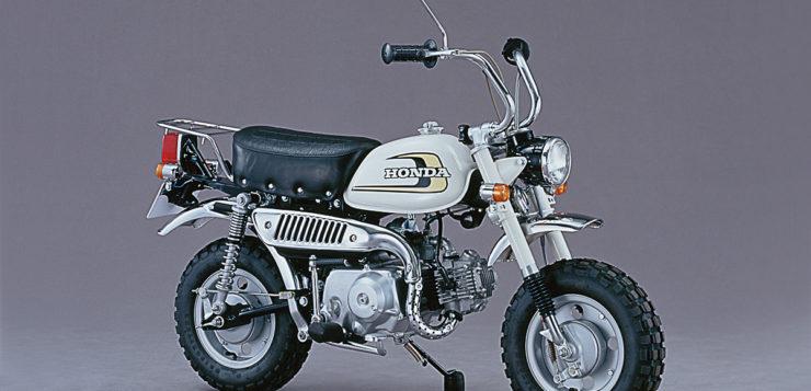 Das zeitlose Design der Honda Monkey Z50J 1974