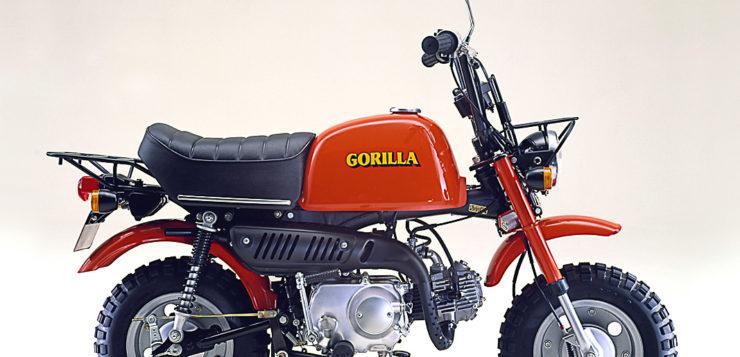 Schwestermodell Honda Gorilla Z50J-III von 1978