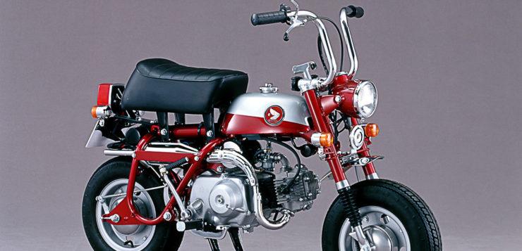 Mit Candy-Lackierung: Honda Monkey Z50Z von 1970