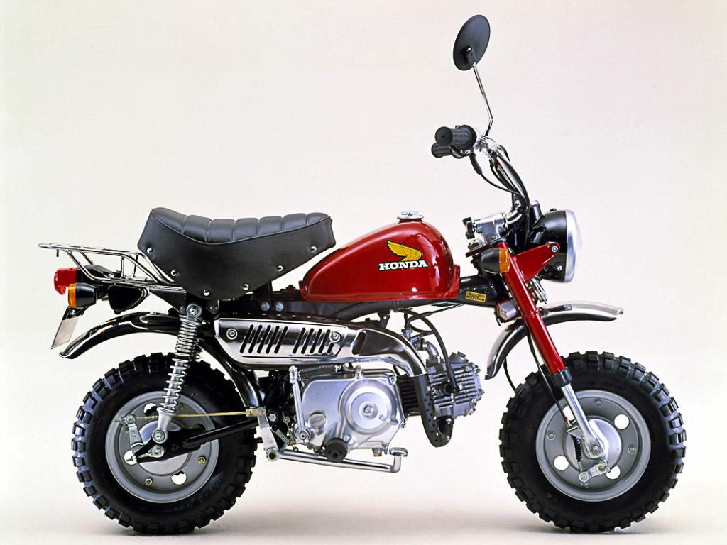 Tropfentank und Sattel - Honda Monkey Z50J-I 1978