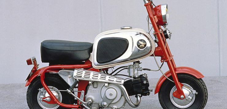 Ab auf die Straße mit der Honda Monkey CZ 100 von 1963