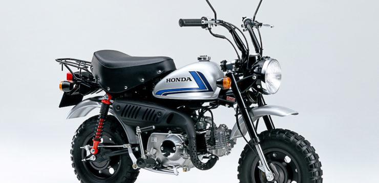 Honda Monkey Special von 2004 im CB 750F Design