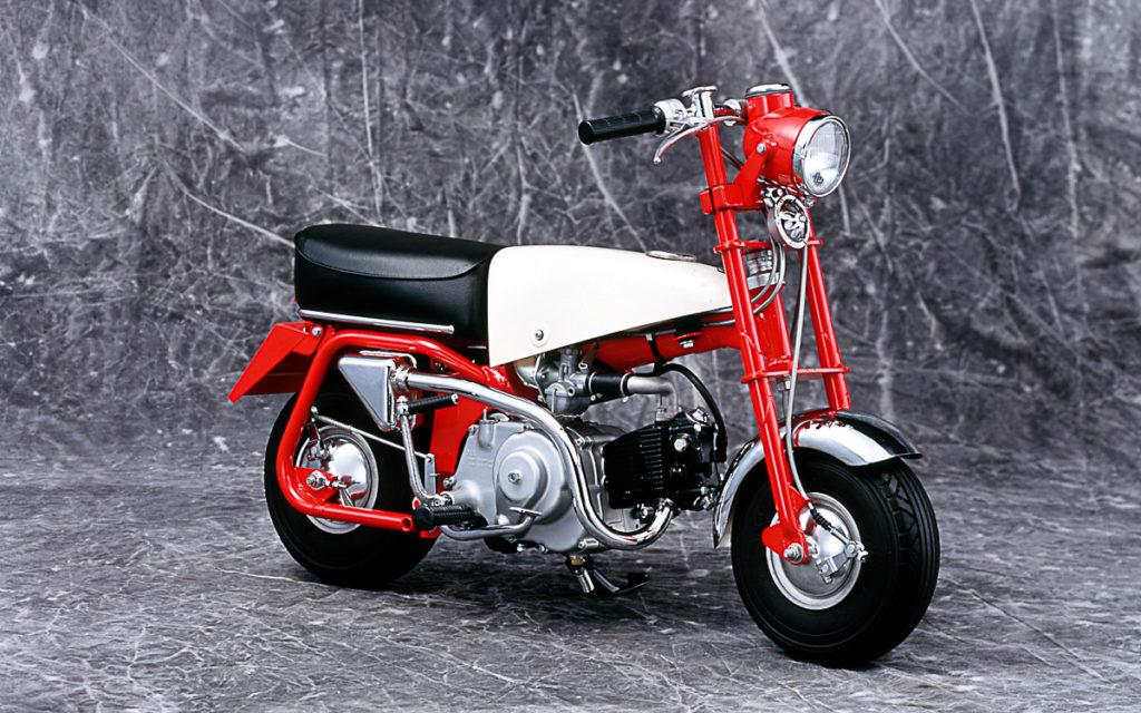 """Die Honda Monkey Z100 (""""Ur-Monkey"""") von 1961"""