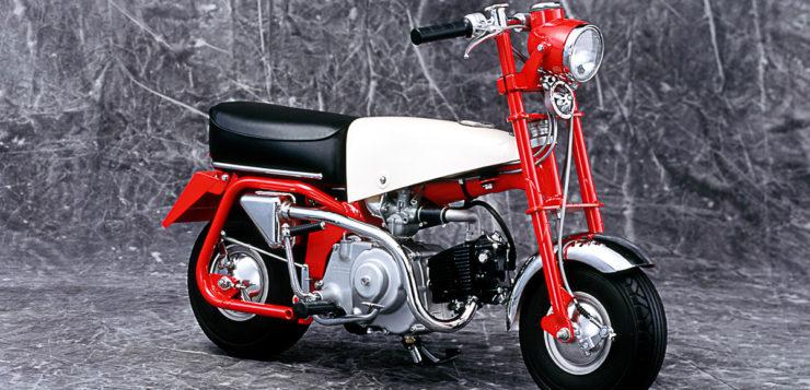 """Honda Monkey Z100 (""""Ur-Monkey"""") von 1961"""