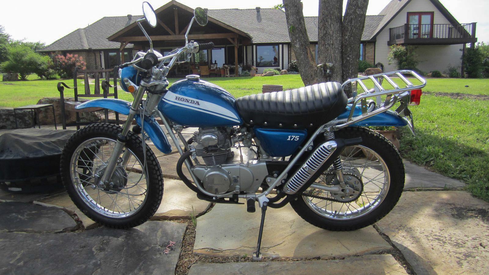 Honda SL 175 K0 von 1970