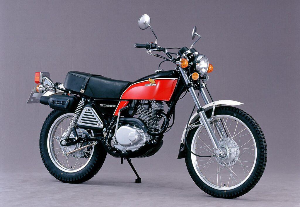 1975 wurde aus der SL die Honda XL 250