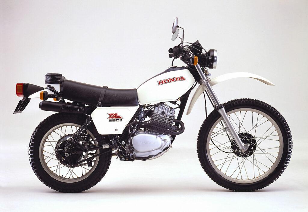 Honda XL 250 S aus dem Jahr 1980