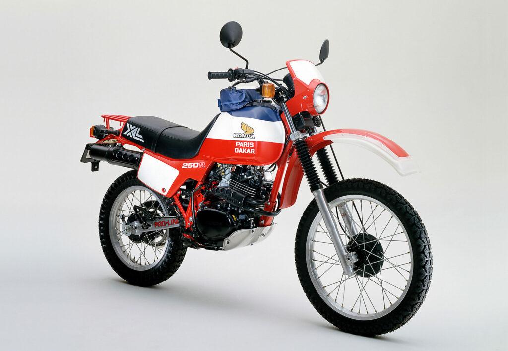 Honda XL 250 R Sondermodell Paris-Dakar mit Pro-Link System