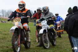 Classic-Motorrad-Geländefahrt