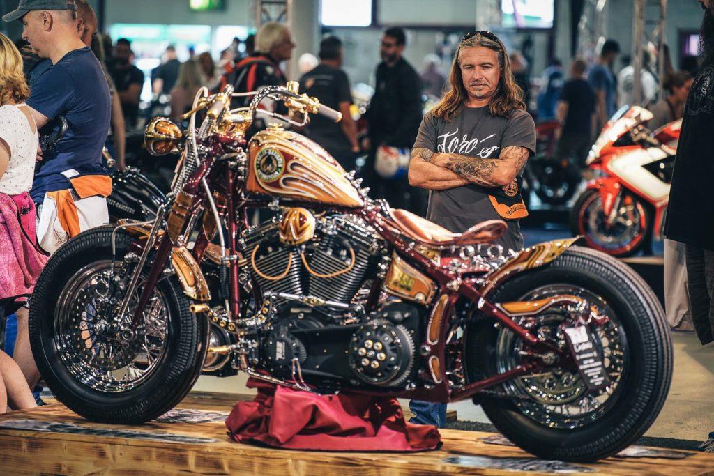 Harley-Davidson war wieder reichlich bei den Custombike Summer Days vertreten