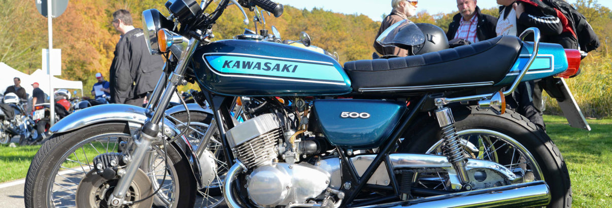 Kawasaki Dreizylinder Treffen