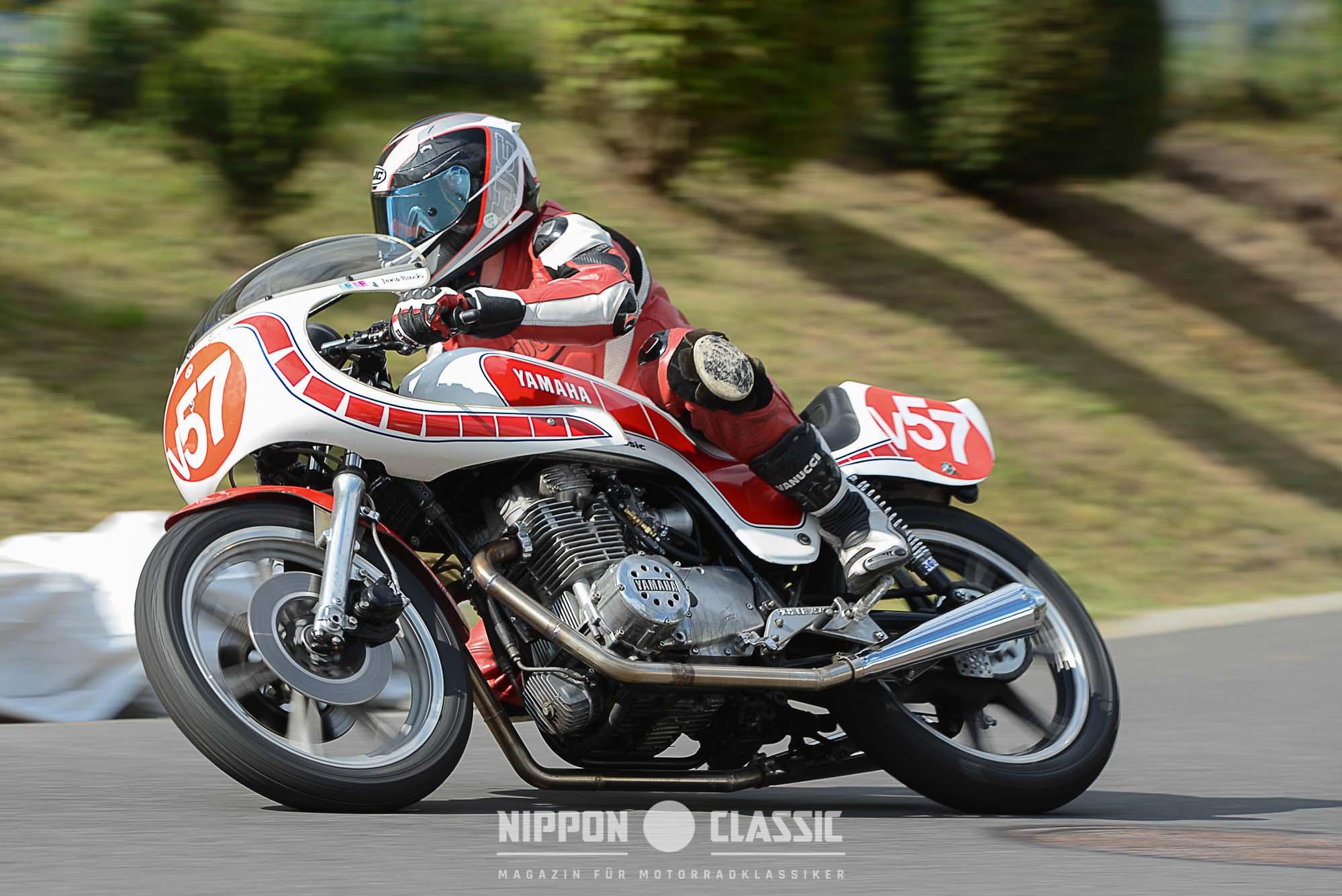 Yamaha XS 400 Cup beim Classic Grand Prix
