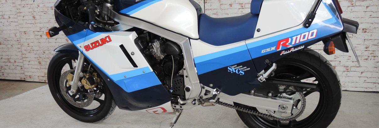 Suzuki GSX-R 1100 – alltagstauglicher Sport-Champion