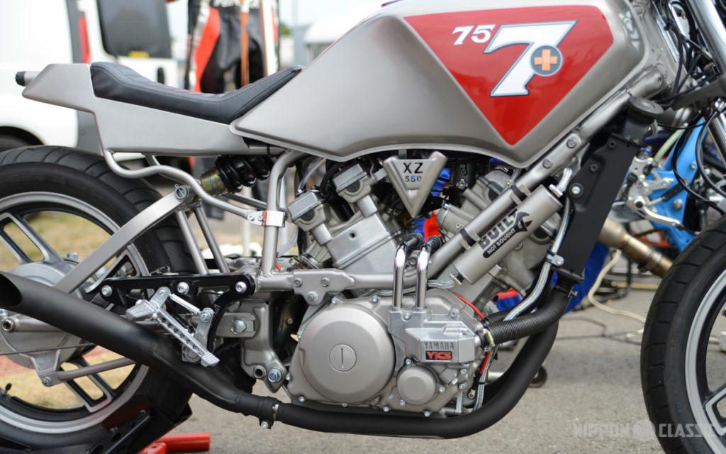 Kraftquelle mit Sound - der V-Motor der XZ 550