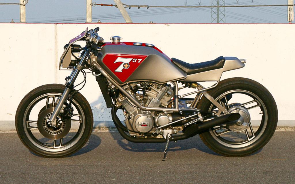 Guido Timmerbeul verwandelte die Yamaha XZ 550 in einen heißen Racer
