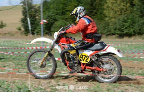 Eine der Sonderprüfungen der 14. Classic Geländefahrt in Niederroßla