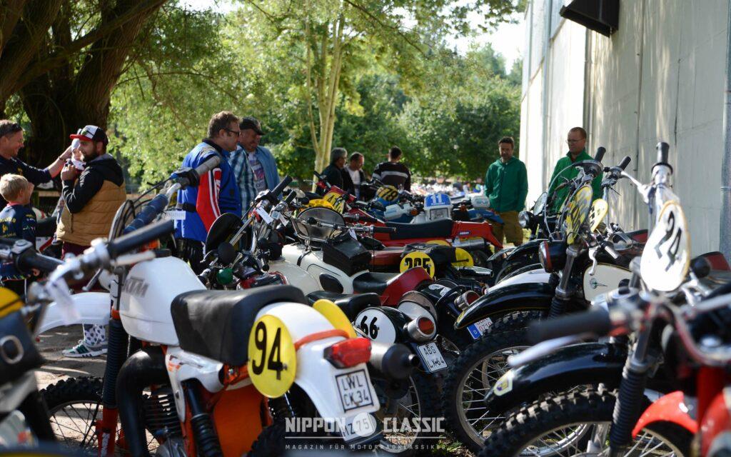 Rund 100 Teilnehmer hatten sich 14. Classic Geländefahrt Niederroßla angesagt