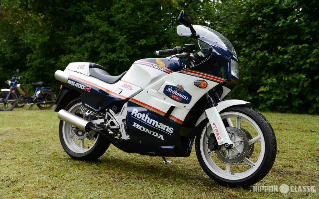 Die Honda NS 400 R wurde per Kickstarter zum Leben erweckt