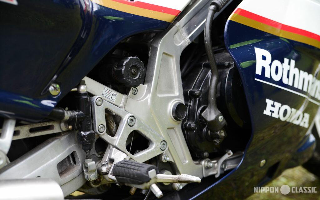 Aluminium-Rechteck-Rohrrahmen der Honda NS 400 R