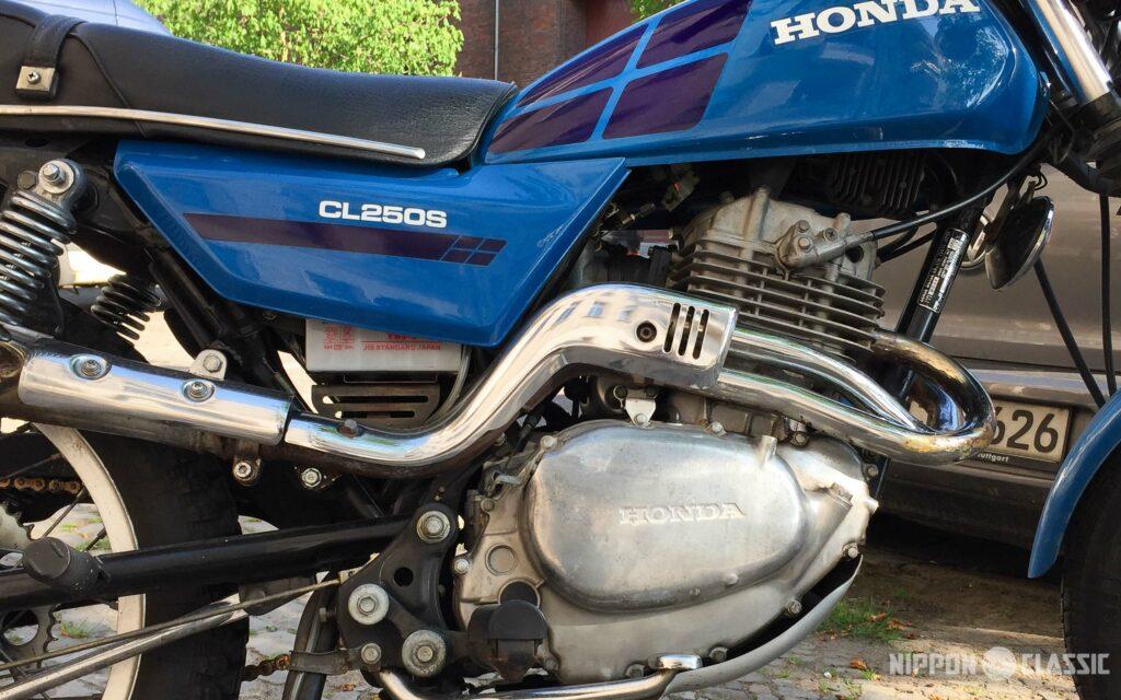 Motor und Fahrwerk der CL250 S stammen aus dem Modulprogramm