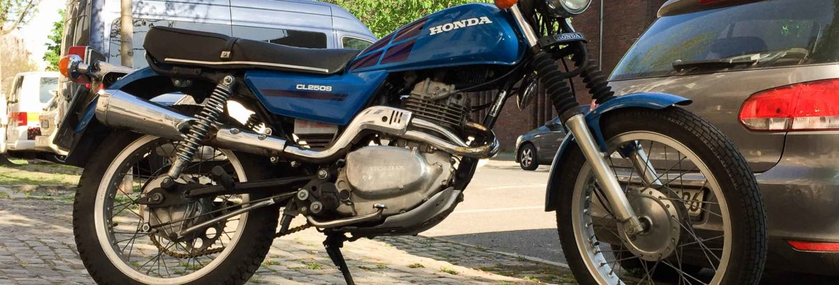 Honda CL 250S (MD04) – Ein Scrambler zum Wandern