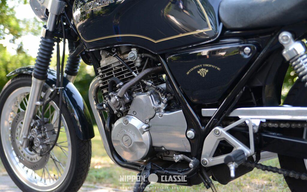 Das GB 500 Clubman Herz entspricht dem XBR Motor