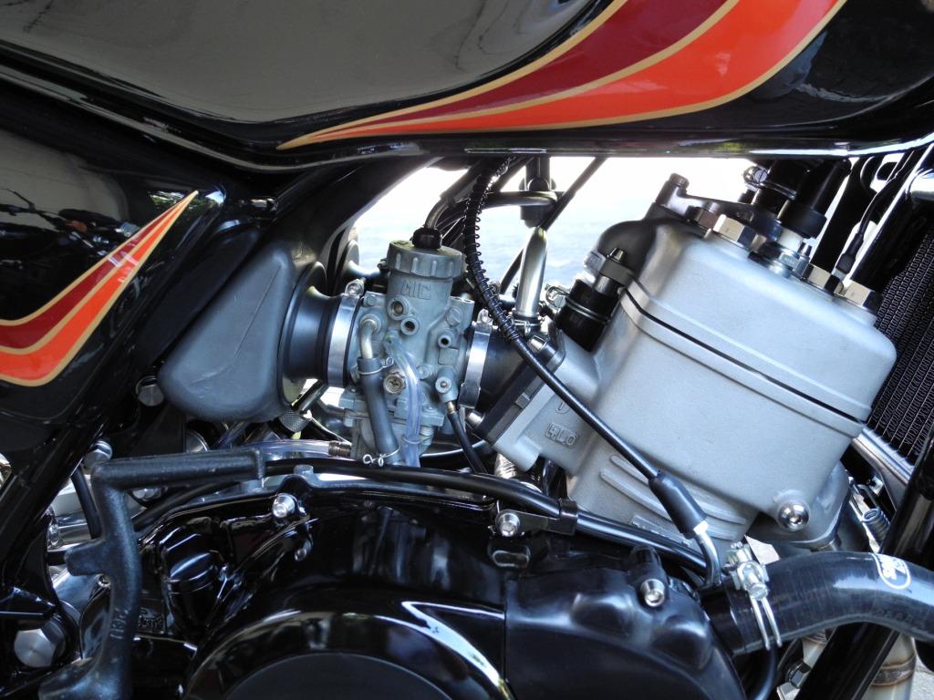 Yamaha Triebwerk mit turbinenartiger Leistungsentfaltung