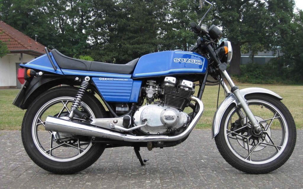 Suzuki GSX 400 kam 1980 auf den Markt