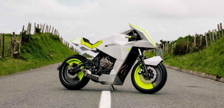 """Yamaha XSR 700 """"Outrun"""""""