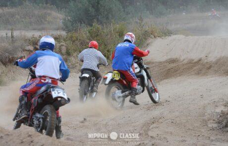 In Wietstock waren alle klassischen Enduro-Motorräder vertreten