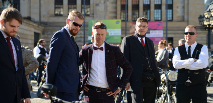 Distinguished Gentleman's Ride 2018 Berlin