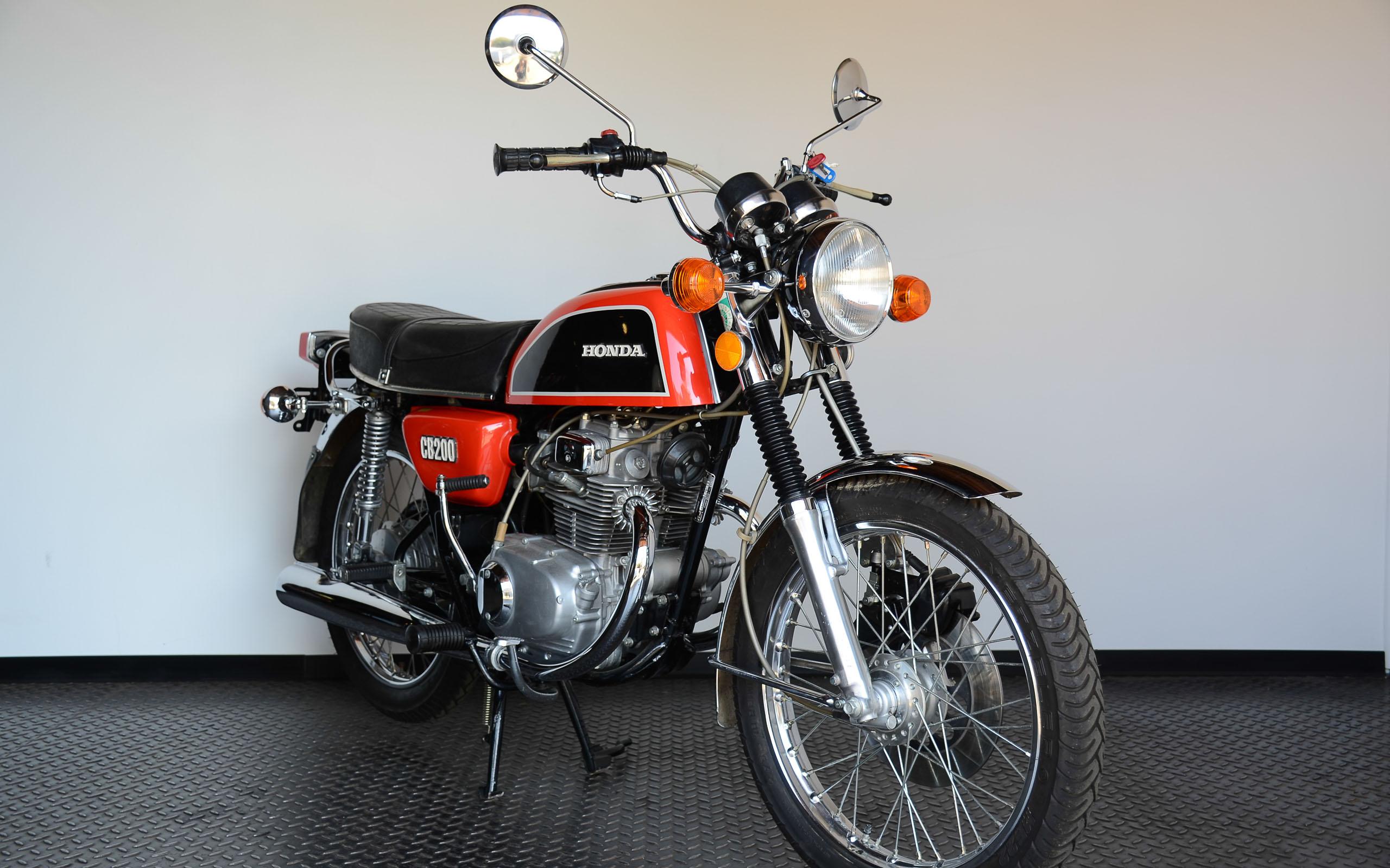 Die Honda CB 200 feierte 1974 ihr Deutschland-Debüt