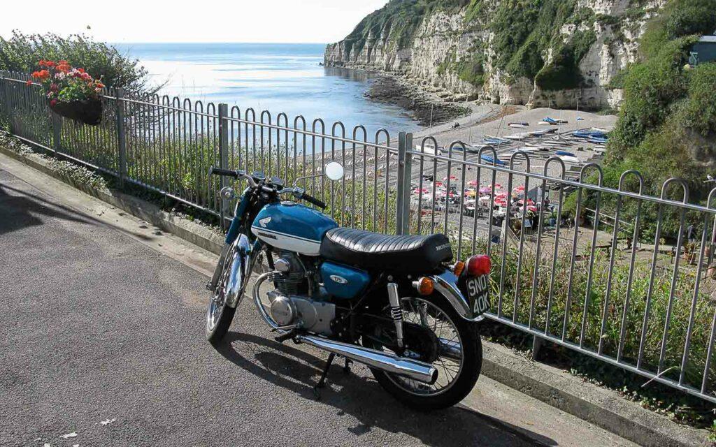 ie Honda CB 175 K ist hierzulande eher selten anzutreffen