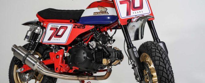 Honda Monkey Tracker von Kingston Custom