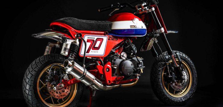 Honda Monkey Tracker – Customizing von Dirk Oehlerking