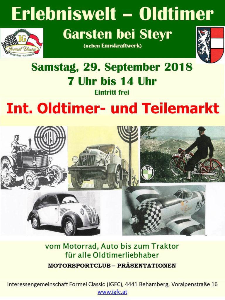 IGFC Oldtimer- und Teilemarkt Garsten