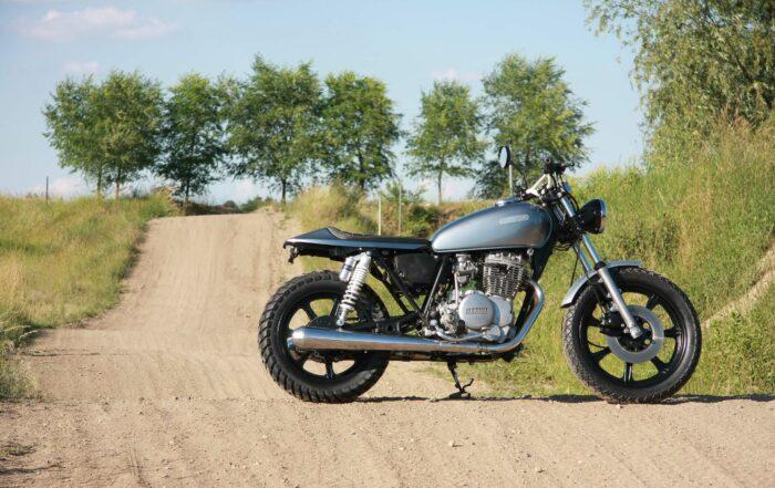 """Yamaha XS 400 Flat Tracker """"SilverSurfer"""""""