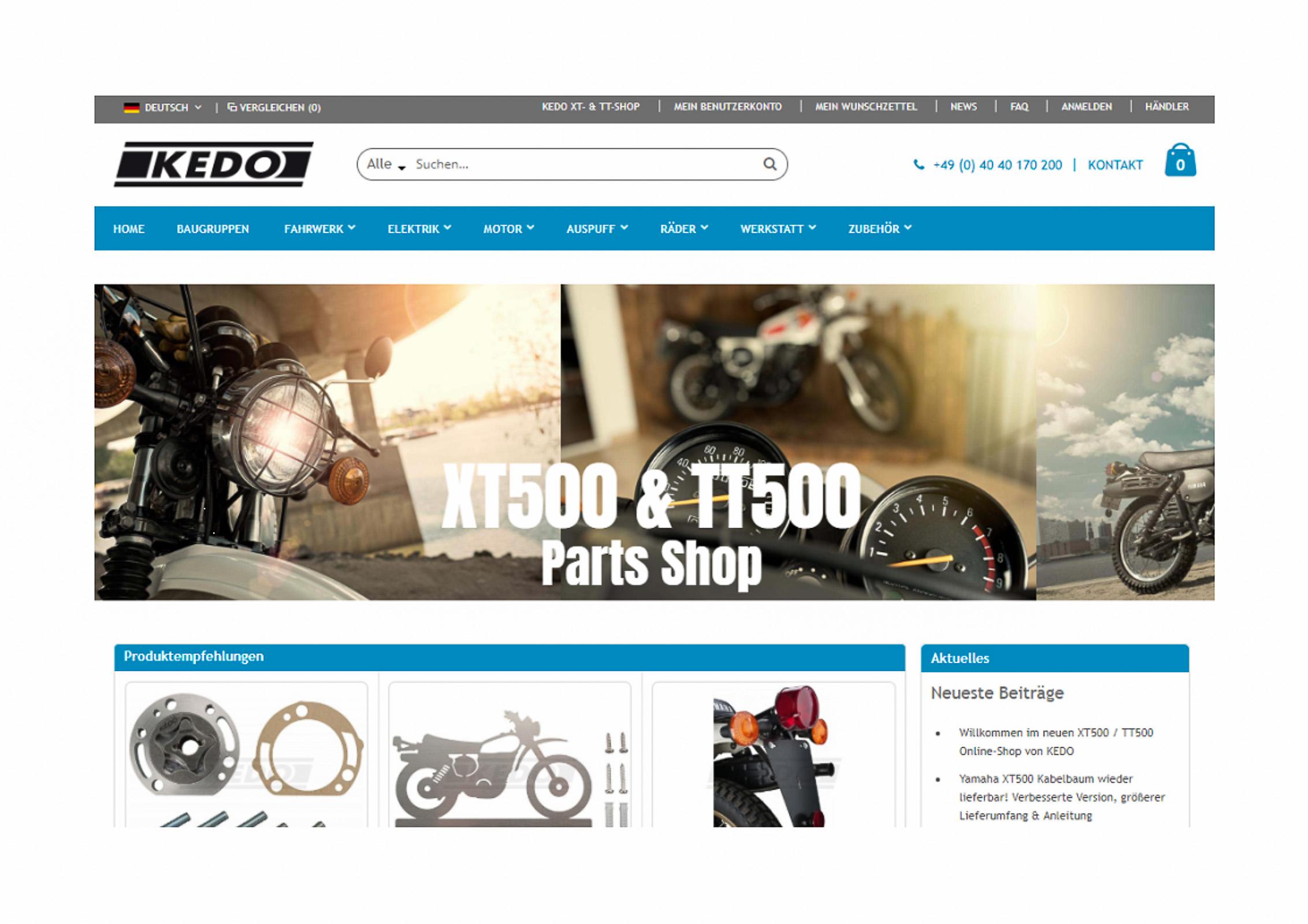 Ersatzteileshop XT500parts.com